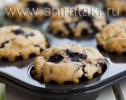 Ширатаки кексы для завтрака