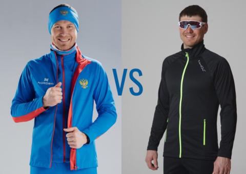 Сравниваем разминочные куртки Nordski Elite Gore-tex двух сезонов