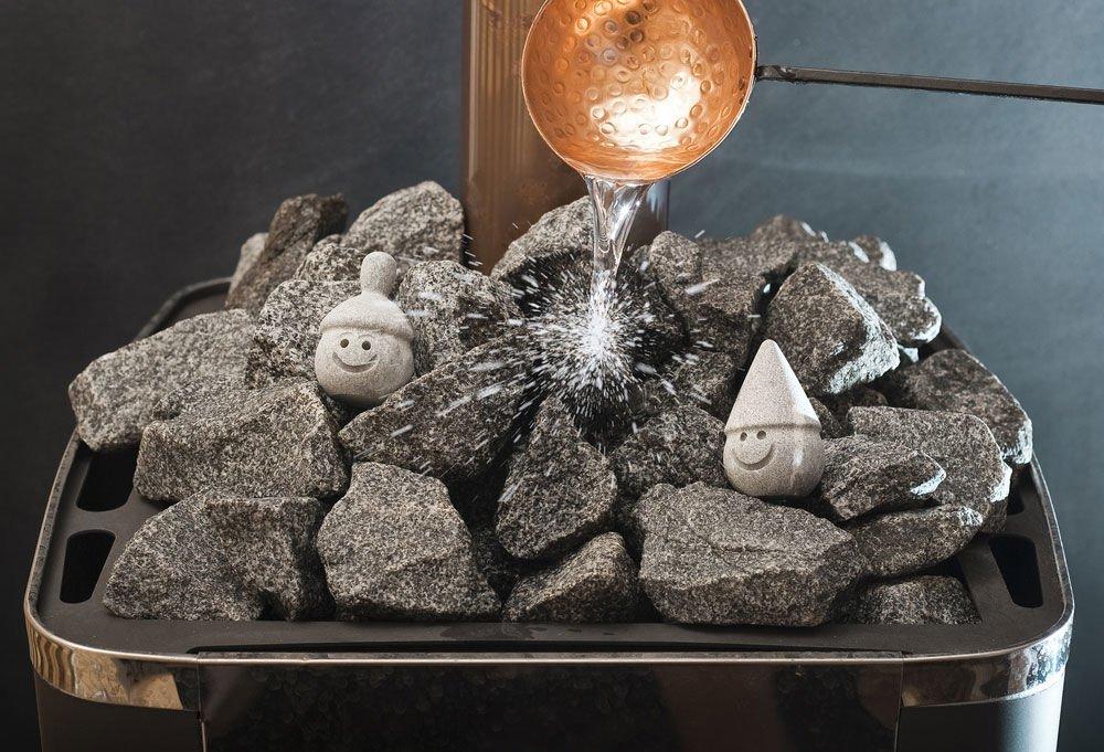 Как правильно уложить камни в открытую каменку
