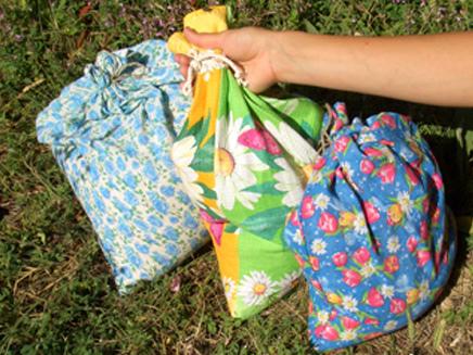 Экологичная упаковка, или модные добрые мешочки