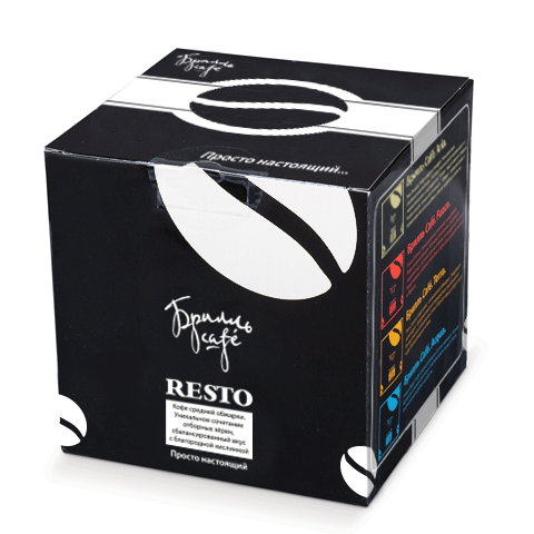 Капсулы Resto – ароматная новинка премиум - класса