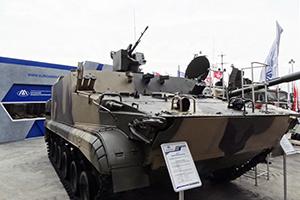 Плавающий БТ-3Ф снабдили боевым модулем