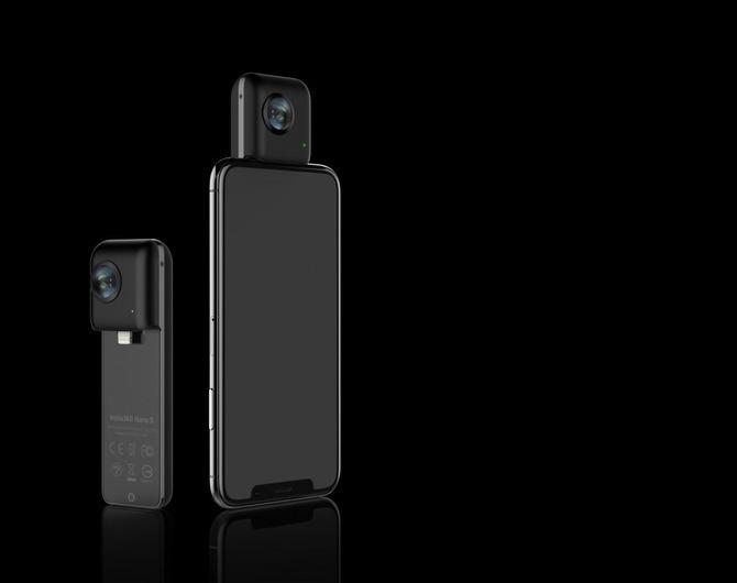 Панорамная камера камера Insta360 Nano S Black – снимай, как профи