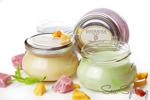 Деликатес для избалованной кожи тела! Обзор свечи-крема для тела КАРАМЕЛЬ от Egomania