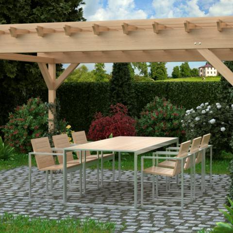 TRIF-MEBEL | Изготовление садовой мебели из дерева и металла на заказ