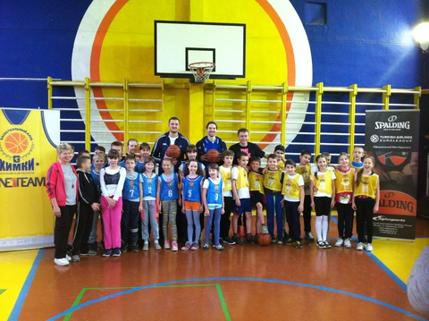 Петтери Копонен провел урок баскетбола в рамках проекта One Team