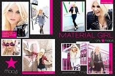 Material girl - американский бренд одежды