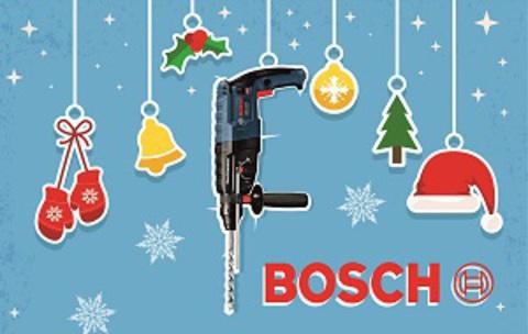 Новогодняя лихорадка подарков от BOSCH!