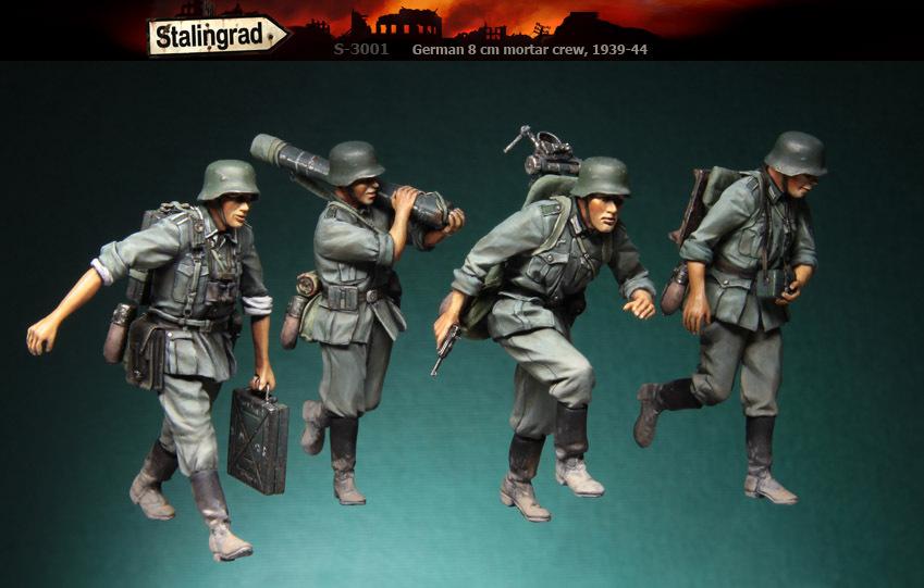 В продажу поступили фигурки из смолы производства Stalingrad в масштабе 1:35