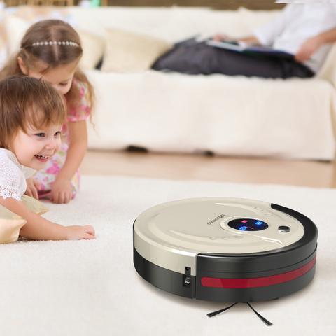 Робот-пылесос и дети
