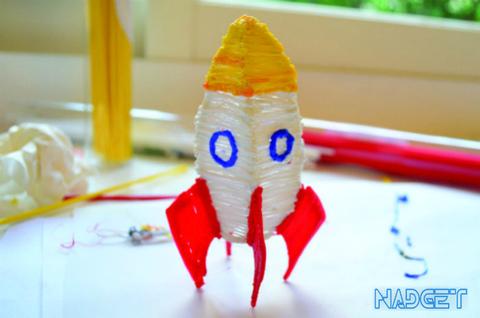 На взлёт и вперёд! Создай ракету при помощи 3D ручки!