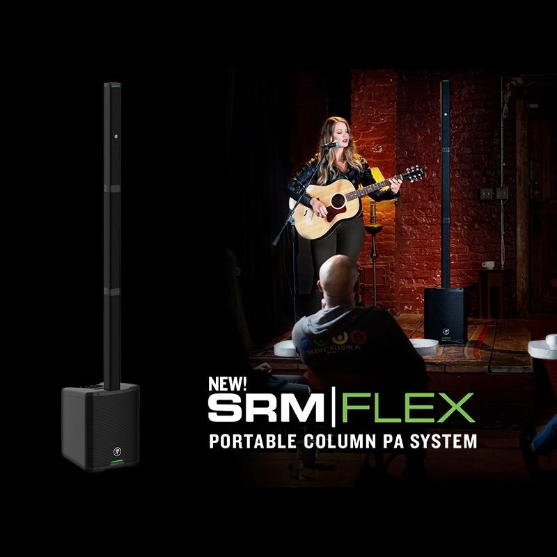 Анонс новой линейной акустической системы Mackie SRM-Flex
