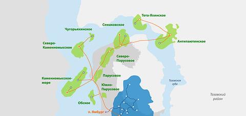 Правительство РФ разрешило Газпрому передать 2 месторождения в СП с РусГазДобычей