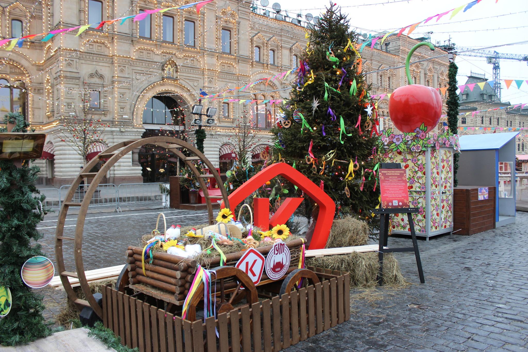Блины от Рузского молока и Роскачества на Красной площади