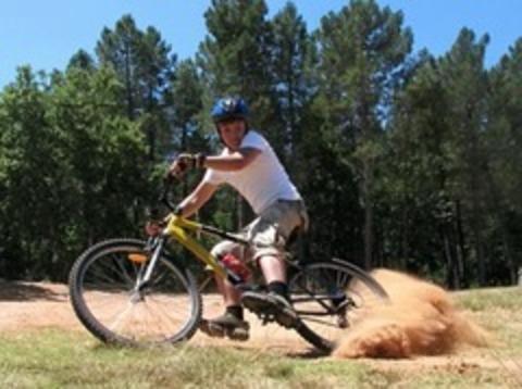 Как и зачем тормозить одним пальцем на горном велосипеде