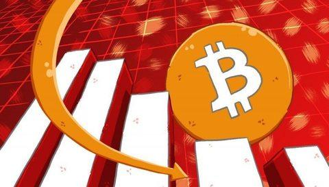 Вниз на 14%: почему падает биткоин?