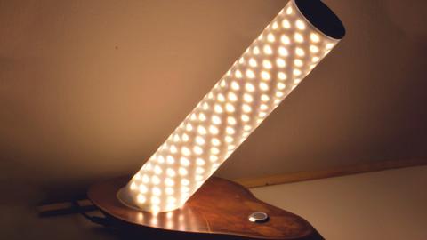 Люстра из светодиодной ленты
