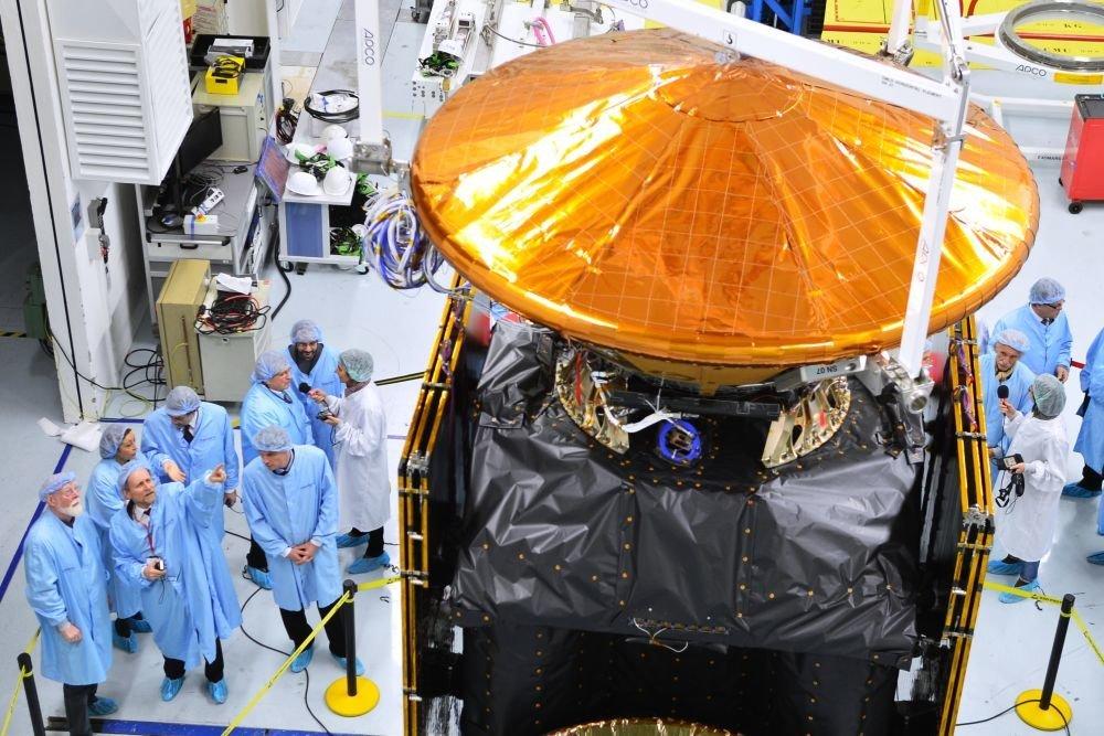 По заказу Роскосмоса создается спутник-инспектор