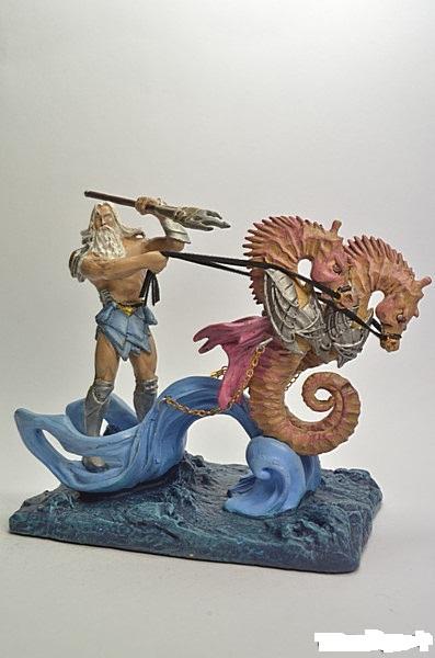 Поступление коллекционных фигурок в росписи от Mythology metal figures Collection by DeAgostini