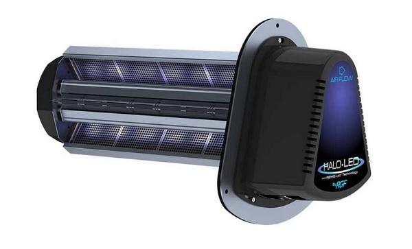 Группа RGF Environmental патентует светодиодный очиститель воздуха