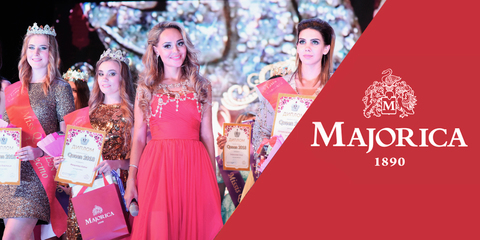 Самарская красавица в украшениях Majorica