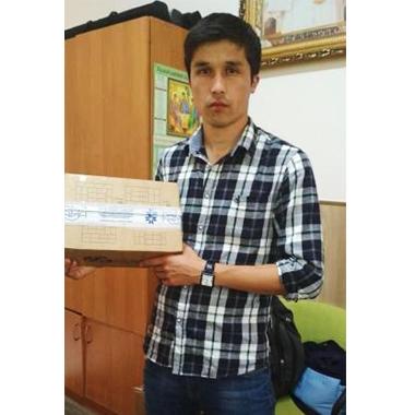 Лечебные повязки Optimelle отправлены в детское ожоговое отделение в Бишкек.