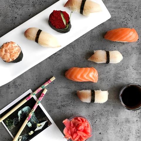 Какая рыба используется для приготовления суши?