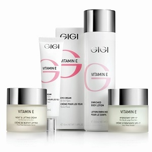 GIGI Vitamin E - Антикуперозная и антиоксидантная программа для всех типов кожи