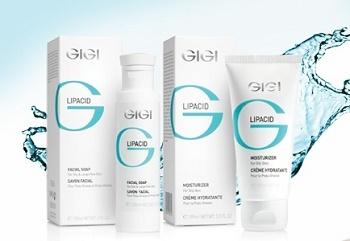 GiGi Lipacid - парамедицинская линия для лечения угревой сыпи