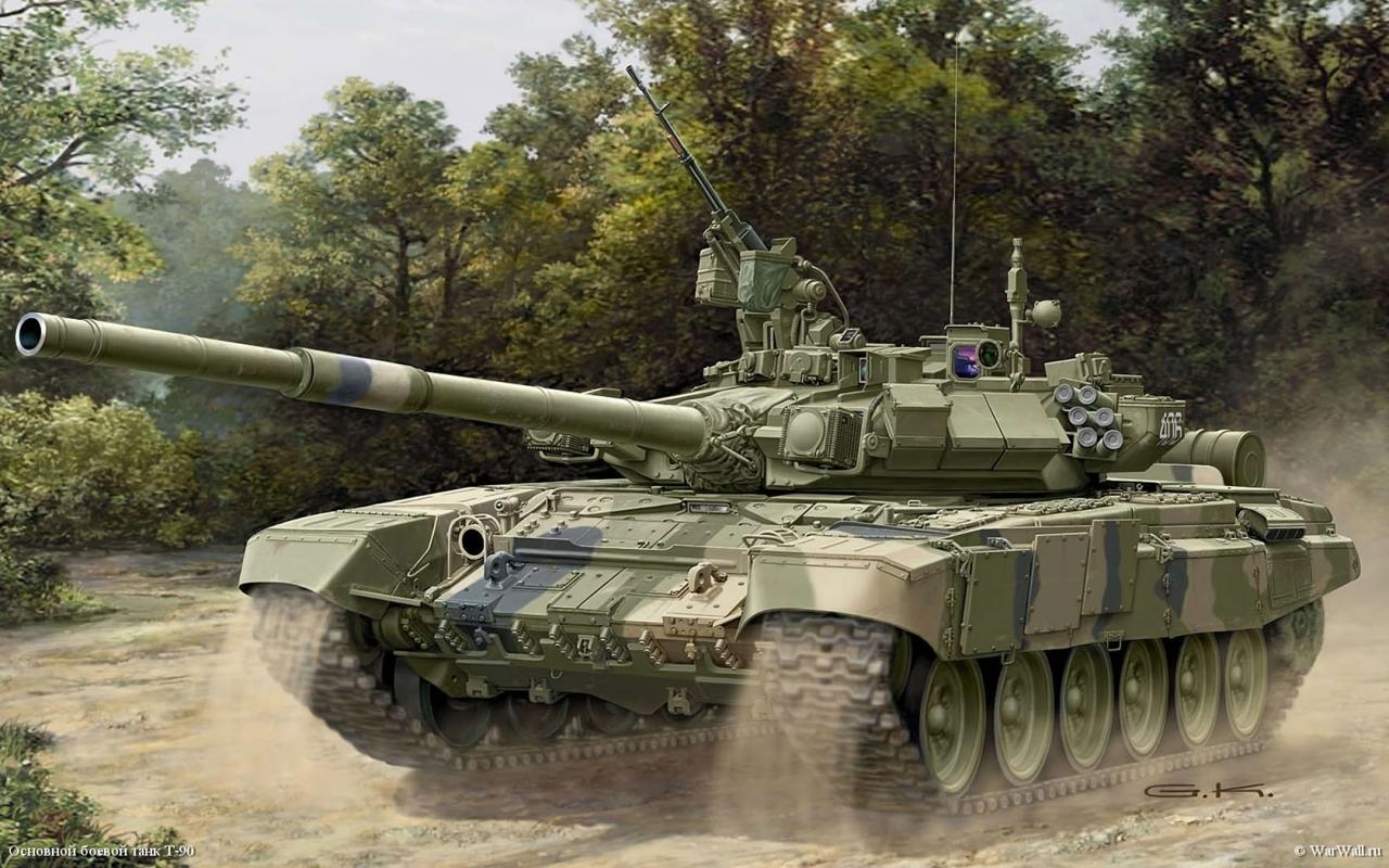 Танки с кондиционерами придут в армию в 2018 г.