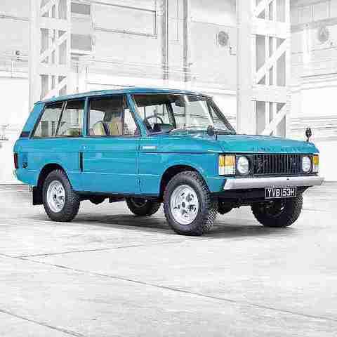 Олдскульный Range Rover возвращается