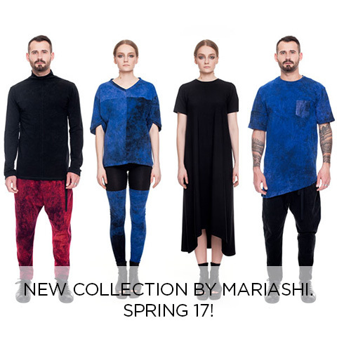 New collection by Mariashi. Spring 17!