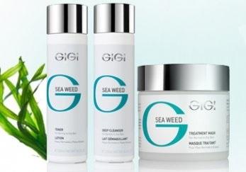 GIGI Sea Weed - Матирующая линия для комбинированной и жирной кожи