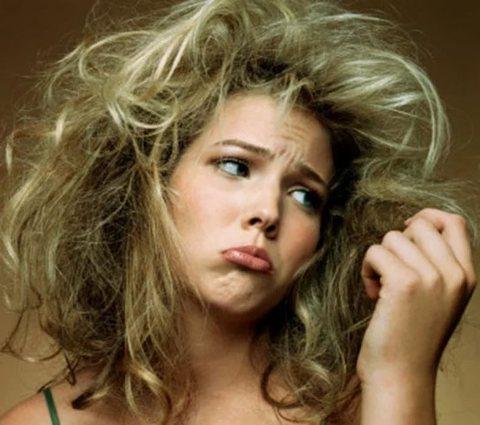 Сухие волосы – какие они? И что с этим делать…