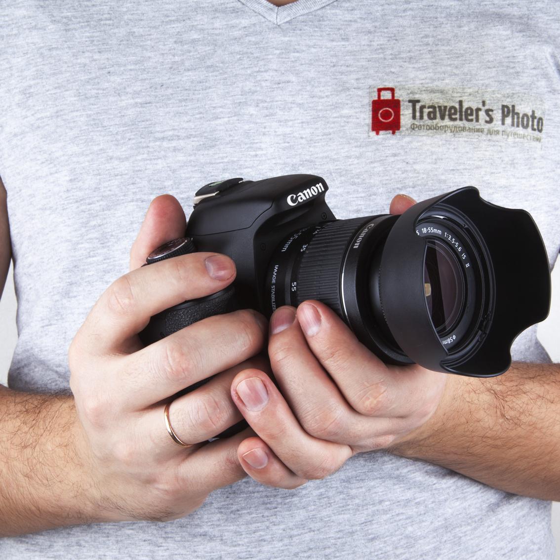 Как подобрать бленду на объектив Canon