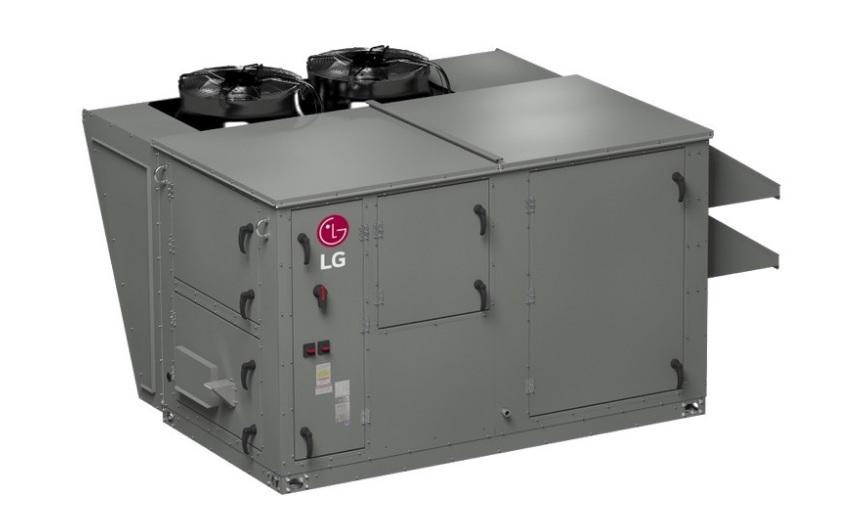 LG расширила ряд крышных систем обработки воздуха RT DOAS