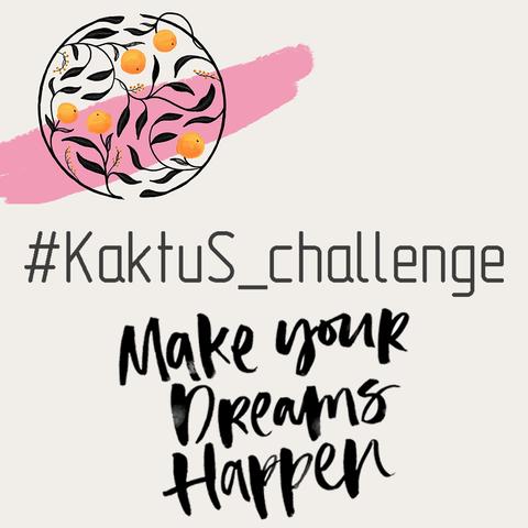 Команда KaktuS accessories Пропонує Вам челендж #KaktuS_challenge