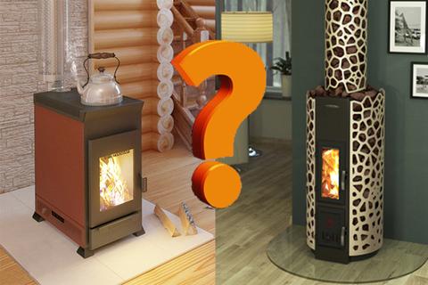 Что выбрать печь или камин для отопления?