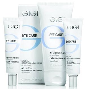 GIGI Eye Care - линия комплексного ухода за кожей век и губ