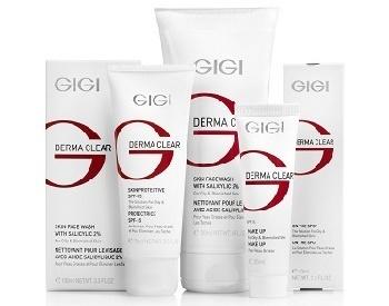GIGI Derma Clear - мультифункциональная программа коррекции акне и омоложения кожи