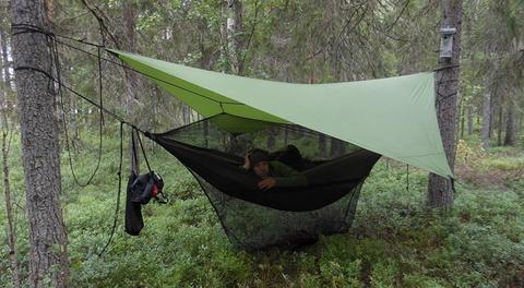 Зачем нужна гамак-палатка?