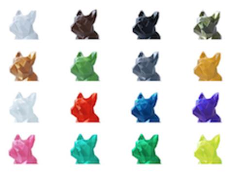 Цветовая палитра пластика Prototyper Filamentarno! пополнилась новым цветом - magenta.
