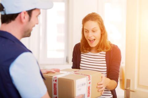 Внедрена возможность рассчитать доставку уже при оформлении заказа.