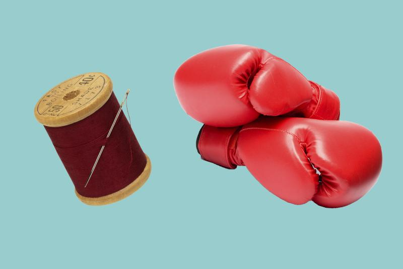 Из чего делают боксерские перчатки?