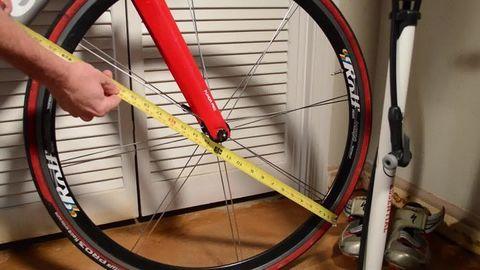 Как определить размер колеса велосипеда?