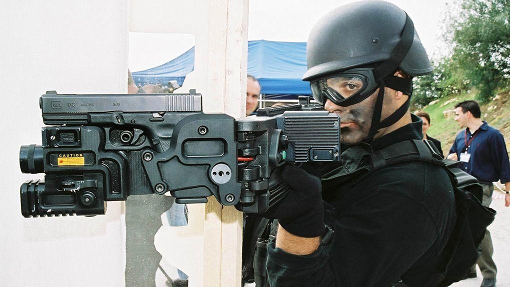 Создано приспособление для стрельбы из укрытия