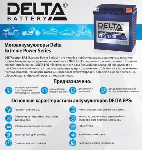 Аккумуляторы Delta ESP
