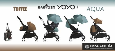 НОВИНКА от BabyZen Yoyo+ Aqua/Toffee