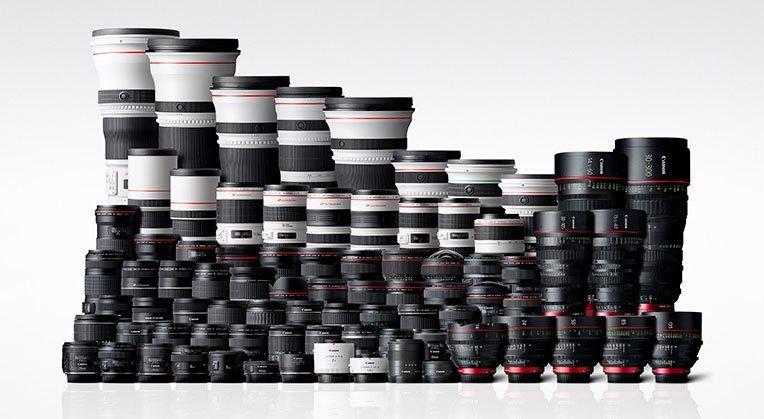 Canon запатентовали 10 новых объективов для беззеркальных камер