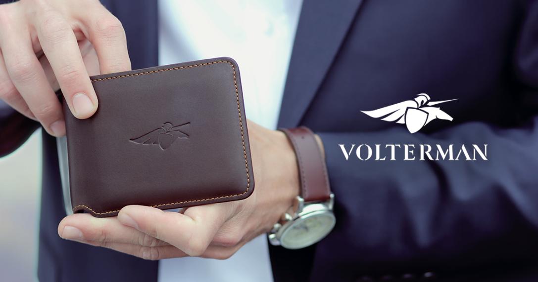 Volterman : революция в производстве кошельков